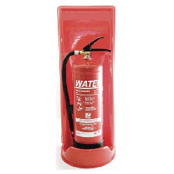 Single Green Fire Extinguisher Stand Safety Equipment